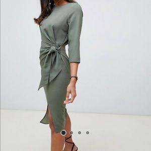 Brand new ASOS midi dress